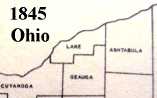 Lake and Geauga County in 1845