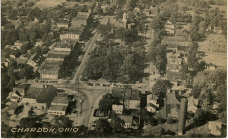 Aerial of Chardon Square