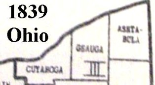 Geauga County in 1839.