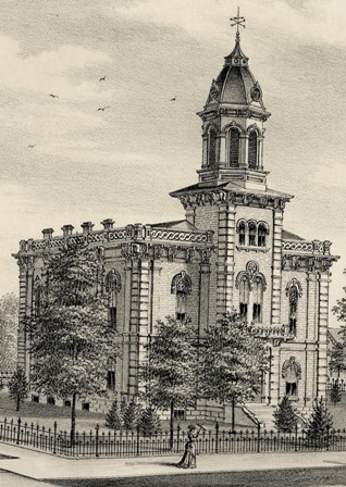 Courthouse in 1878